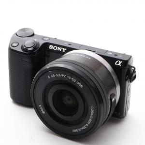 中古 SONY α NEX-5R パワーズームレンズキット E PZ 16-50mm F3.5-5....