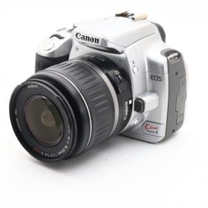 中古 Canon EOS Kiss デジタル X レンズキット シルバー デジタル 一眼レフカメラ ...