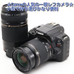 中古 美品 Canon EOS X7 ダブルズームセット 一眼レフ カメラ キャノン 初心者 人気 ...