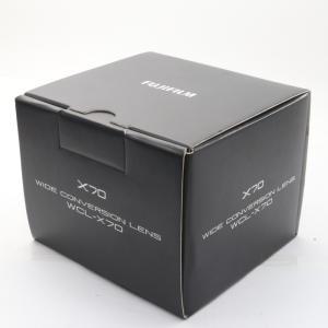 未使用 未開封品 FUJIFILM X70用 ワイドコンバージョンレンズ WCL-X70 ブラック ...