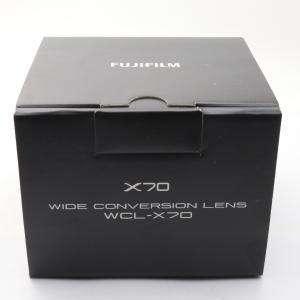 未使用 未開封品 FUJIFILM X70用 ワイドコンバージョンレンズ WCL-X70 シルバー ...