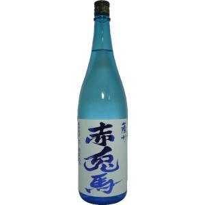 (入荷いたしました!)芋焼酎 薩州 赤兎馬 20% 青 (限定品) 1800ml|tomoda