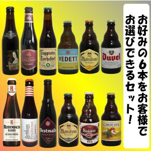 当店に掲載しているベルギービール詰め合わせ6本セットです。お客様のお好みでビールをセレクトできます!...