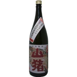芋焼酎 須木 赤山猪 (限定品) 1800ml|tomoda