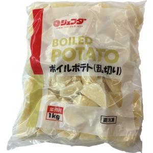 (要冷凍)JFDA ボイルポテト(乱切り) 1kg|tomoda