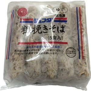 (要冷凍)JFDA そば(粗挽き) 200g×5玉入り|tomoda