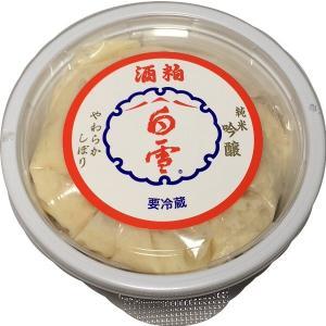 (入荷いたしました!)酒粕 白雪酒粕 純米吟醸 250g|tomoda