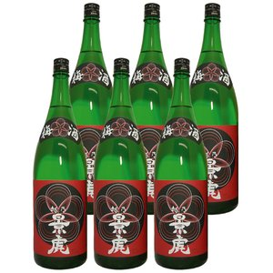 (2月下旬頃入荷・予約商品)越乃景虎 梅酒 1800ml 6本入り 送料無料