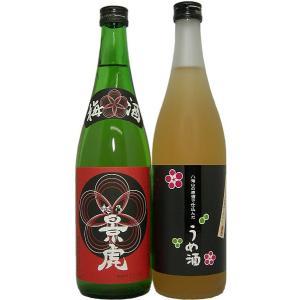 (入荷いたしました!)梅酒 越乃景虎梅酒セット B(720ml 2本セット)|tomoda