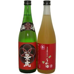 (入荷いたしました!)梅酒 越乃景虎梅酒セット D(720ml 2本セット)|tomoda