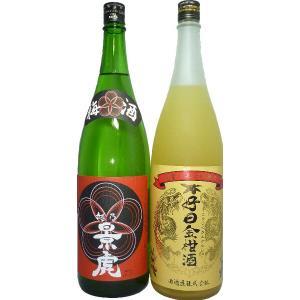 (入荷いたしました!)梅酒 越乃景虎梅酒・和酒セット C(1800ml2本セット)|tomoda