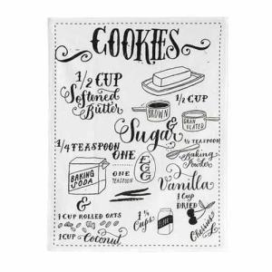 ファブリックミー リネンディッシュクロス クッキーズレシピ |tomodsap
