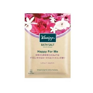 天然岩塩に、ロータス(ハス)とジャスミンの植物エキスを配当したバスソルト。 オリエンタルで上品な花々...