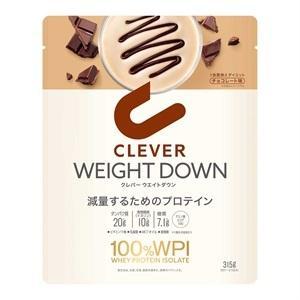 クレバー プロテイン ウエイトダウン チョコレート味 315g tomodsap