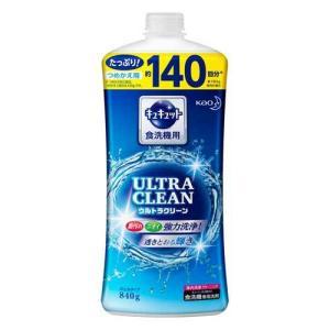 食器洗い乾燥機専用 キュキュット ウルトラクリーン すっきりシトラスの香り つめかえ用 840g|tomodsap