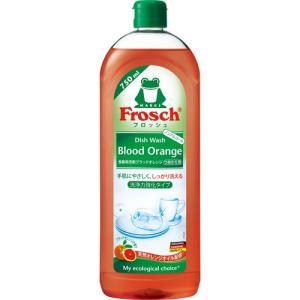 フロッシュ 食器用洗剤 ブラッドオレンジ つめかえ用 750ml|tomodsap