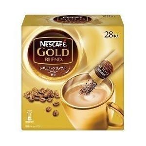 ネスカフェ ゴールドブレンド スティックコーヒー 28P|tomodsap