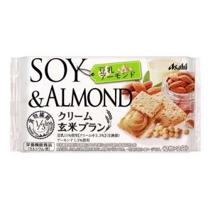 クリーム玄米ブラン 豆乳アーモンド 6袋セット 72g(2枚×2袋)×6