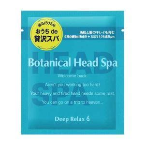 髪質改善研究所 ボタニカルヘッドスパ トライアル 30g|tomodsap