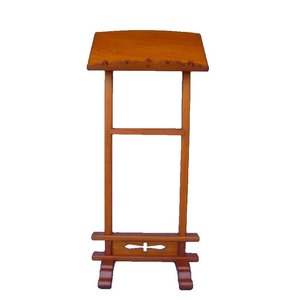 木製仏具 二本足見台138cm見台54cm奥行き38cmタモ材 (受注生産)|tomoe3