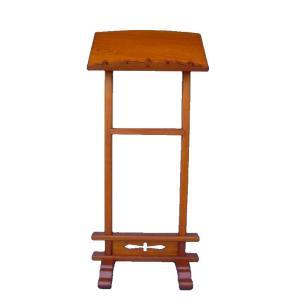 木製仏具 二本足見台138cm見台60cm奥行き38cm欅材 (受注生産)|tomoe3