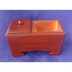 木製 仏具 香炉 角香炉欅材8寸(幅24cm)(受注生産)|tomoe3