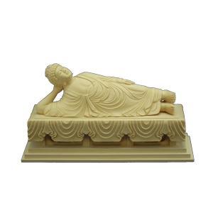 仏像 木彫り 釈迦涅槃像長さ60cm桧木(受注生産)|tomoe3