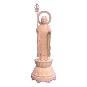 仏像 木彫り地蔵菩薩立像身丈1.5尺総高75cm桧木(受注生産)|tomoe3