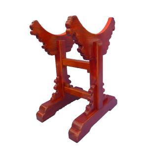 長胴太鼓台座/お宮台(木目材)直径42cm(1.4尺)|tomoe3