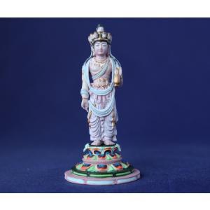 仏像フィギュア 十一面観音 身丈1.5寸総高7.5cm 素材PVC