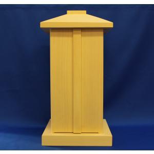 木製仏具/白木厨子12*12*26cm桐|tomoe3