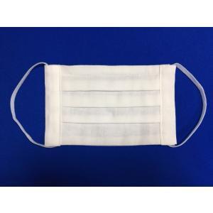 マスク 日本製 布 ガーゼ 肌に優しい 給食 花粉症対策 手洗いOK 手作り 白色 キナリベージュ  自社製造品 Mサイズ Lサイズ|tomoe3