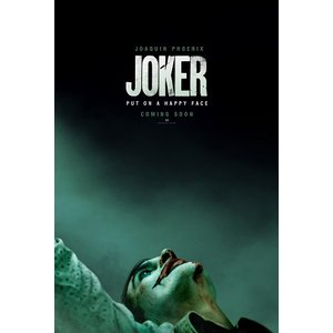 映画ポスター ジョーカー JOKER DC US版 両面印刷 ds1