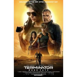 映画ポスター ターミネーター:ニューフェイト Terminator US版 両面印刷 ds2