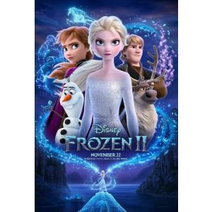映画ポスター アナと雪の女王 2 FROZEN 2 ディズニー US版 両面印刷 ds4