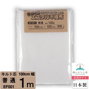キルト芯 普通 日本製 100cm×100cm ドミット タイプ  EF001
