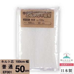 キルト芯 普通 日本製 100cm×50cm ドミット タイプ  EF001|tomonohutonnya