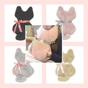 猫雑貨 リラックス キャットクッションMia 4色|tomonyanshop2