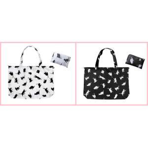 猫雑貨 エコバッグ キャットレインバッグ 雨の日はバッグを守るカバー 2色|tomonyanshop2