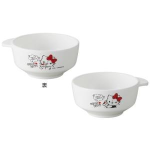ハローキティ 茶碗 キティ 子供食器 ベビー食器 ベビー 食洗機対応 女の子 おしゃれ 出産祝い ブランド 日本製 OSK CB-31|tomorrow-life