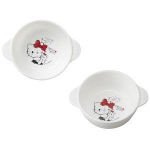 ハローキティ スープ皿 キティ 子供食器 ベビー食器 ベビー 食洗機対応 女の子 おしゃれ 出産祝い ブランド 日本製 OSK CB-32|tomorrow-life