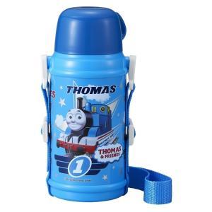 きかんしゃトーマス 水筒 ステンレス ボトル 600ml カップ付 男の子 子供 OSK SB-600C|tomorrow-life