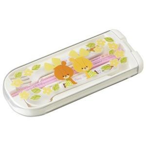 がんばれ!ルルロロ トリオセット 女の子 男の子 食洗機対応 スプーン フォーク 箸 子供 OSK CT-28|tomorrow-life