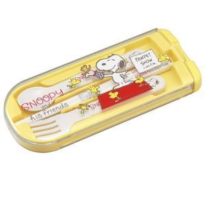スヌーピー トリオセット 食洗機対応 男の子 女の子 スプーン フォーク 箸 セット 子供 カトラリー 日本製 OSK CT-28|tomorrow-life
