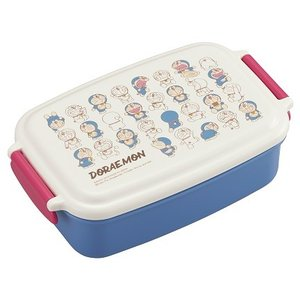 ドラえもん ランチボックス お弁当箱 仕切付 1段 500ml 子供 男の子 おしゃれ レンジ対応 食洗機対応 日本製 OSK PL-1R|tomorrow-life