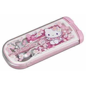 キティ トリオセット 子供 女の子 かわいい さくら 食洗機対応 スプーン フォーク 箸 セット カトラリー OSK CT-20 tomorrow-life