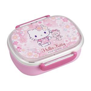 ハローキティ お弁当箱 ランチボックス 360ml キティ さくら 子供 中子付 女の子 かわいい 食洗機対応 レンジ対応 日本製 OSK PCR-7|tomorrow-life