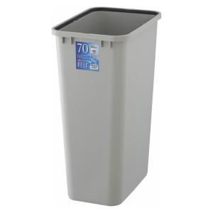 ゴミ箱 ダストボックス 本体 角型 73L リス ベルクペール 角70S ライトグレー|tomorrow-life