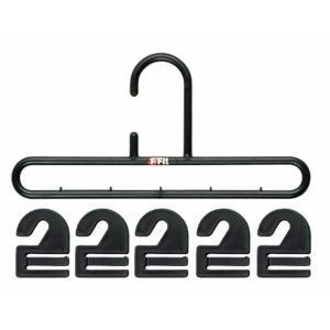 ネクタイハンガー フック20枚 ネクタイ ハンガー 収納 ネクタイ掛け 日本製 シンコハンガー F-Fit tomorrow-life