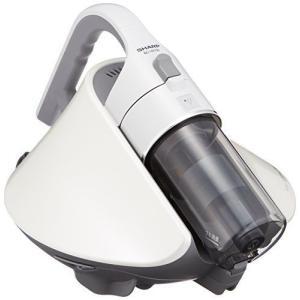 シャープ サイクロン ふとん掃除機 プラズマクラスター搭載 ホワイト EC-HX150-W tomoshop0218